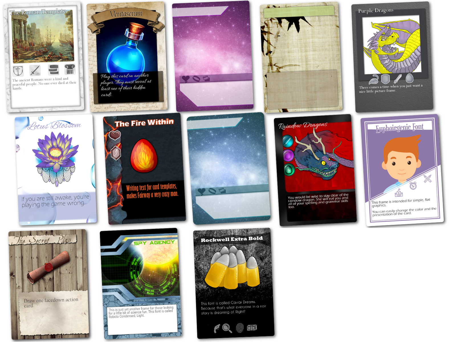 online card designing